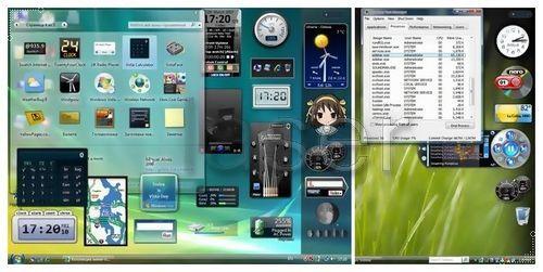 Microsoft gadgets